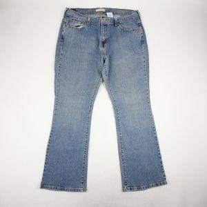 Levis Women's 515 Bootcut Jeans Size 14 High Rise